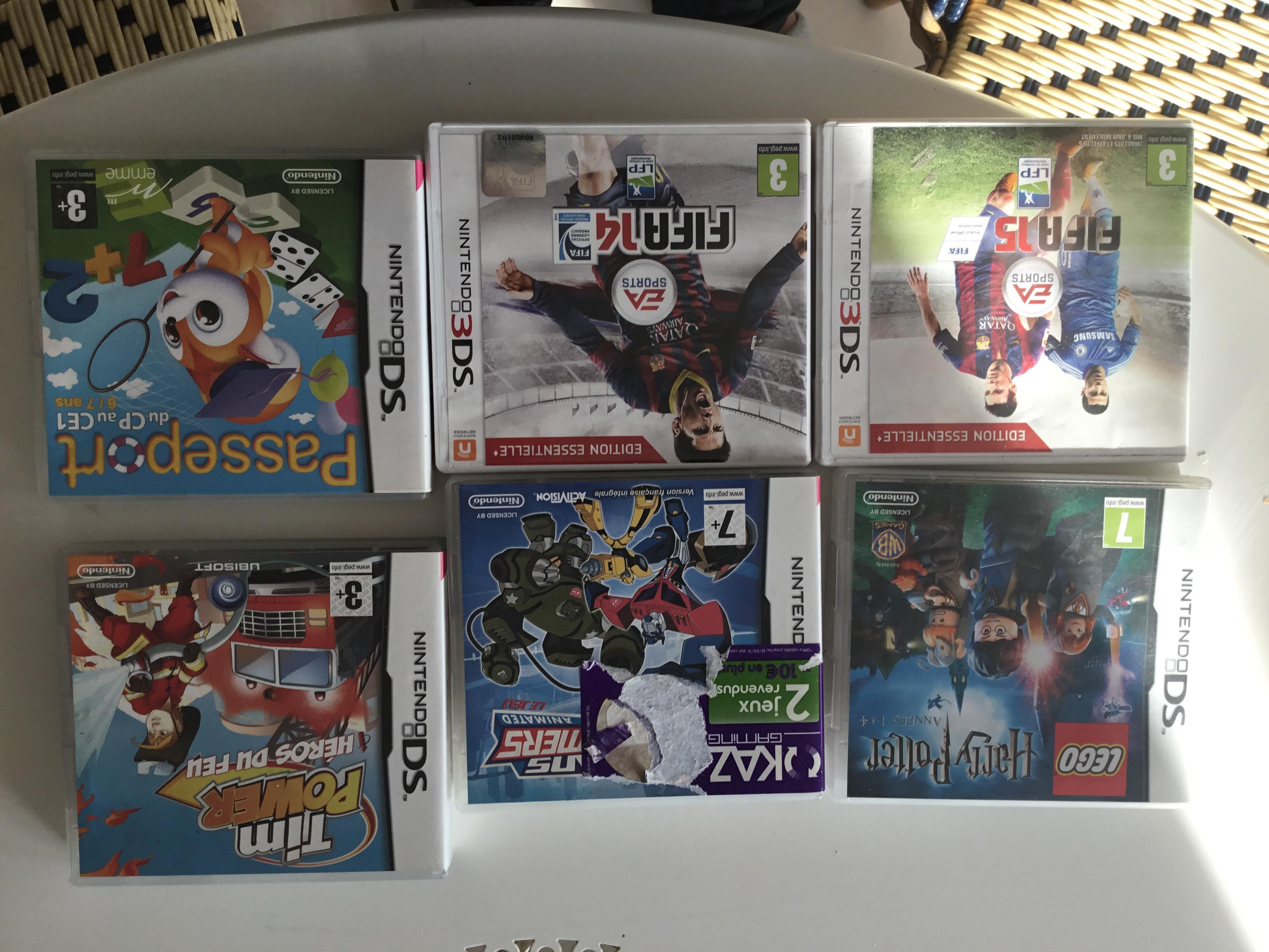 lot jeux DS et 3 DS 30 Grenoble (38)