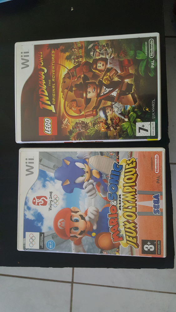 Jeux wii 5 Poitiers (86)