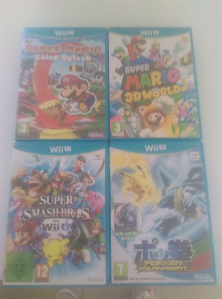 4 jeux Wii U 80 Hyères (83)