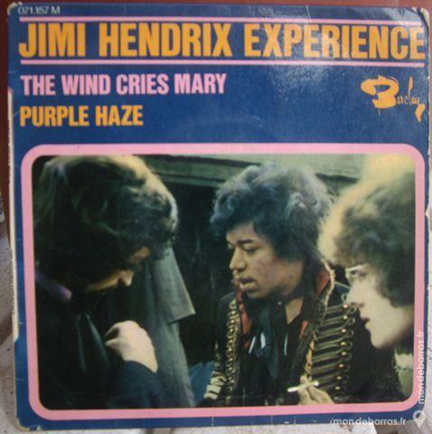 JIMI HENDRIX EXPERIENCE . 45 TOURS 45 Saint-Victoret (13)