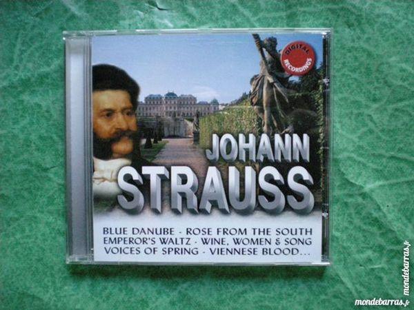 CD Johann Strauss  9 titres 3 Saleilles (66)