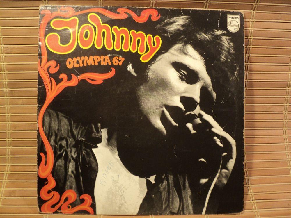 Johnny Halliday   Olympia 67   Disque Vinyl 33 Tours 5 Loches (37)
