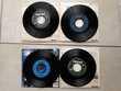 LOT DE 4 X 45 T JOHNNY HALLYDAY QUE JE T'AIME CD et vinyles