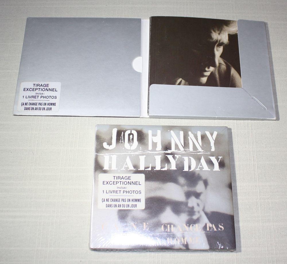 Johnny Hallyday. Ca ne change pas un homme. CD 14 T.  1991.  35 Bavay (59)