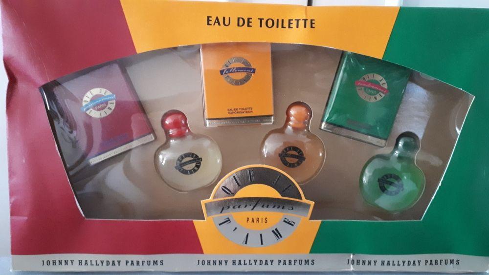 JOHNNY HALLYDAY  - COFFRET PARFUMS  QUE JE T'AIME 50 Villemomble (93)