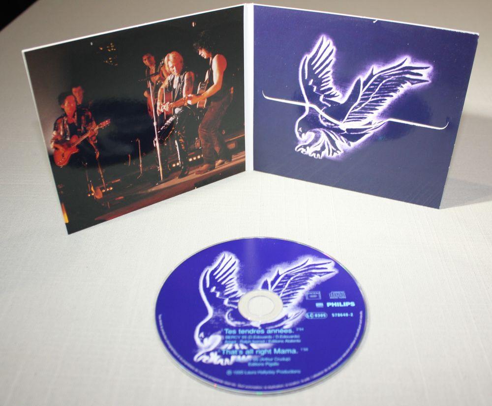 Johnny Hallyday. CD 2 T. Edition limitée. 1995. TB état. 12 Bavay (59)