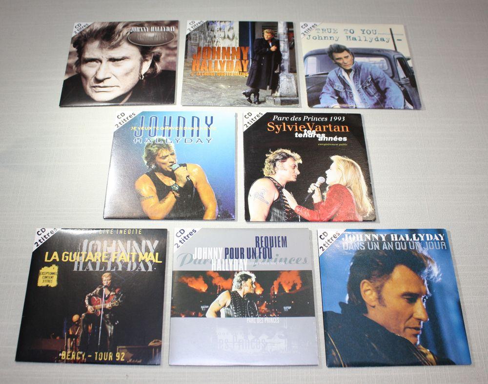 Johnny Hallyday - CD 2T TBE - Editions années 1992-95 4 Bavay (59)