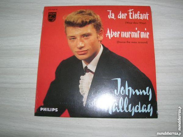 CD JOHNNY HALLYDAY Ja, der Elefant  en Allemand 13 Nantes (44)