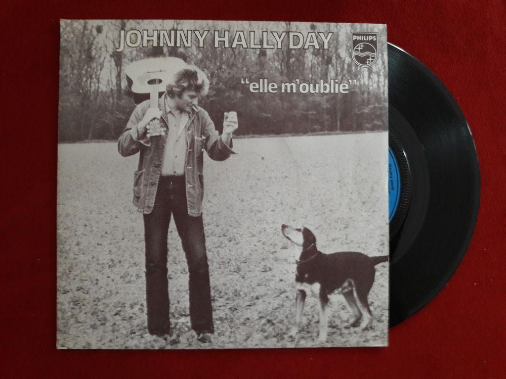 JOHNNY HALLYDAY ELLE M'OUBLIE 6 Decazeville (12)