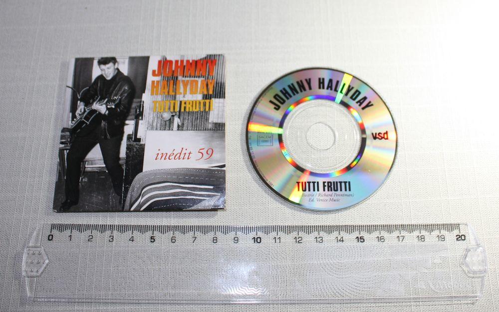 Johnny Hallyday - Mini CD 1993, Tutti Frutti - Hors commerce 10 Bavay (59)