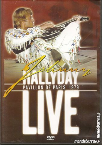 Johnny Hallyday Pavillon de Paris 1979 8 Maurepas (78)