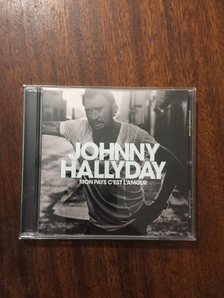 CD johnny Hallyday   Mon pays c' est l' amour   5 Saleilles (66)