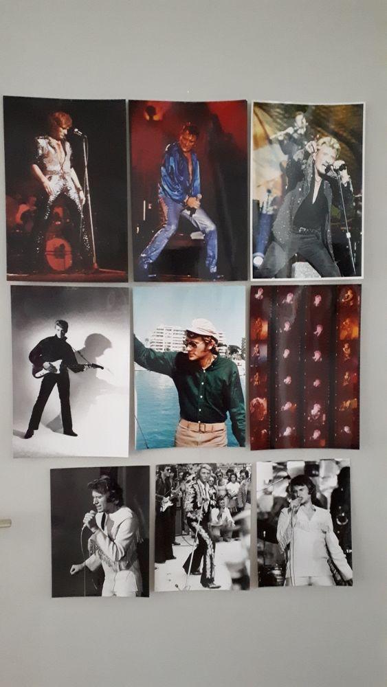 JOHNNY HALLYDAY  - Photos différents formats 0 Villemomble (93)