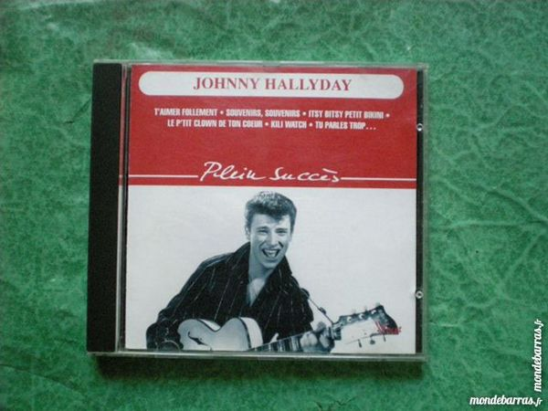 CD  Johnny Hallyday « plein succès » 10 Saleilles (66)