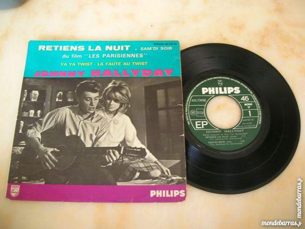 EP JOHNNY HALLYDAY Retiens la nuit - Bande VIOLET 135 Nantes (44)