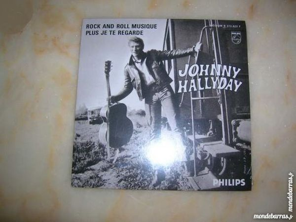 CD JOHNNY HALLYDAY Rock and roll musique 13 Nantes (44)