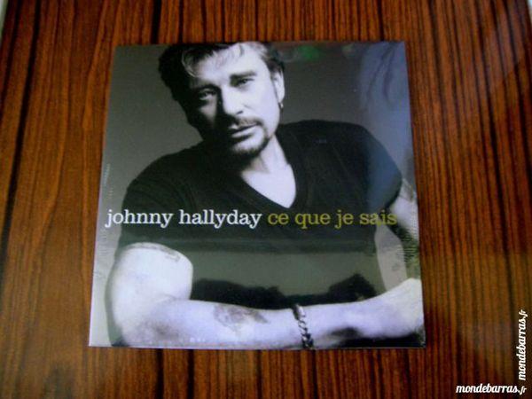 CD JOHNNY HALLYDAY Ce que je sais 5 Nantes (44)