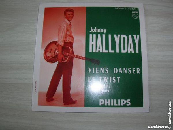 CD JOHNNY HALLYDAY Viens danser le twist 15 Nantes (44)