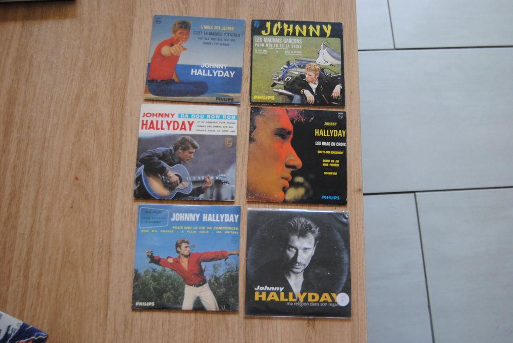 cd johnny hallyday 10 Mérignac (33)