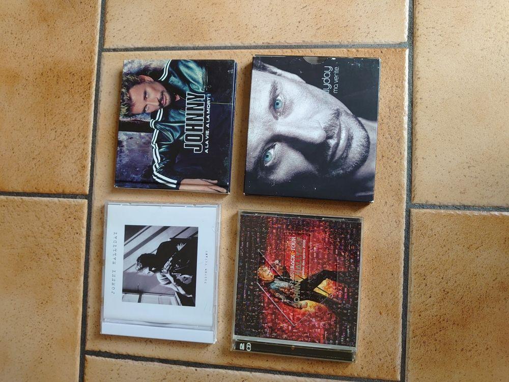 7 CD de Johnny Hallyday 20 Le Châtelet-en-Brie (77)