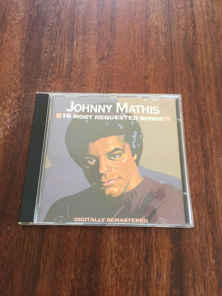 Cd Johnny Mathis   16 most requested songs   3 Saleilles (66)