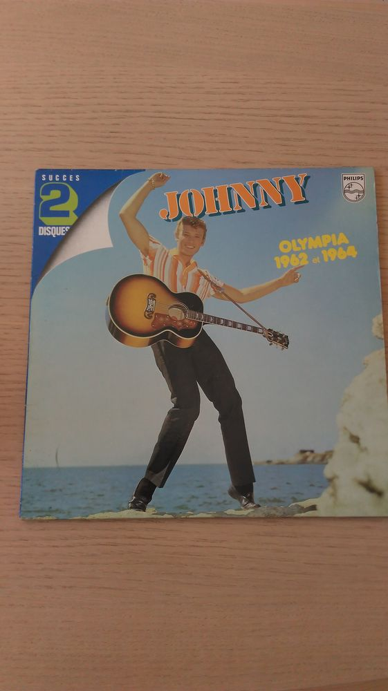Johnny - olympia 1962 et 1964 - succes 2 disques 10 Angers (49)