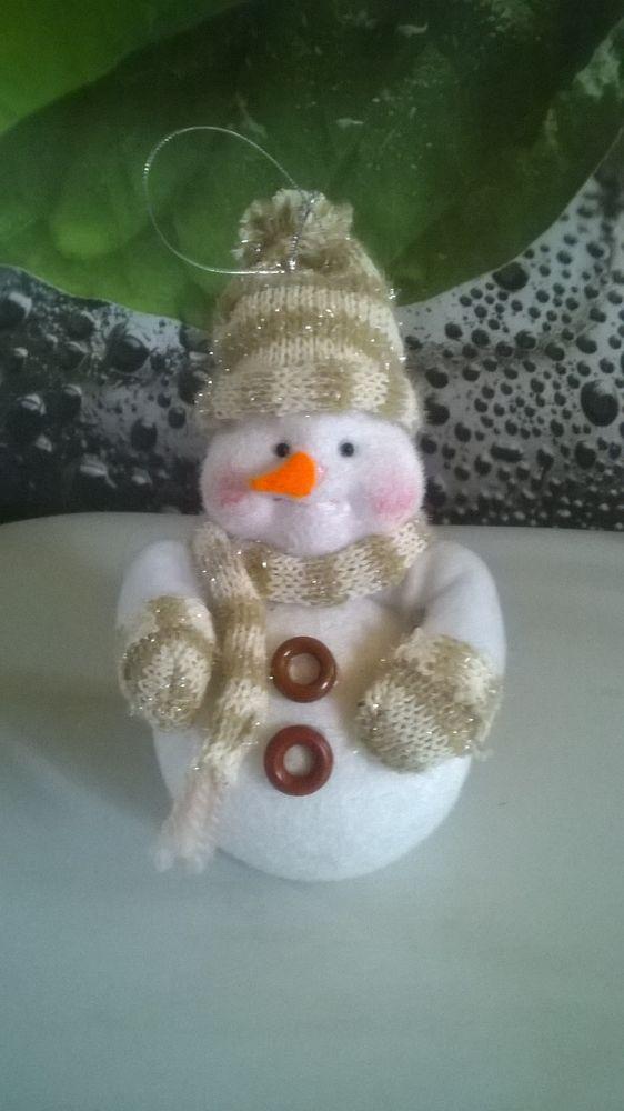 Joli bonhomme de neige à accrocher 4 Talange (57)