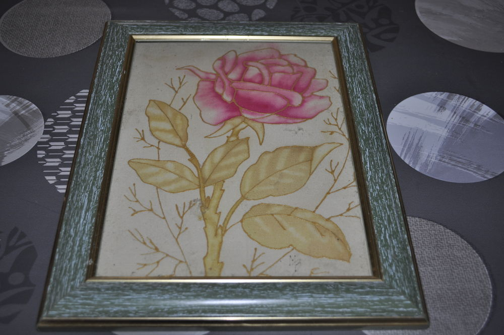 Joli cadre avec sa fleur 5 Perreuil (71)
