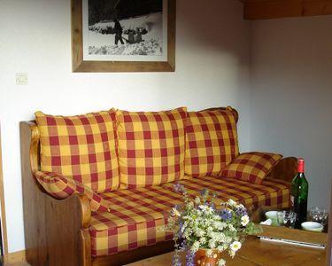 Joli canapé bois massif excellent état  avec  lit offert 190 Saint-Jean-de-Sixt (74)
