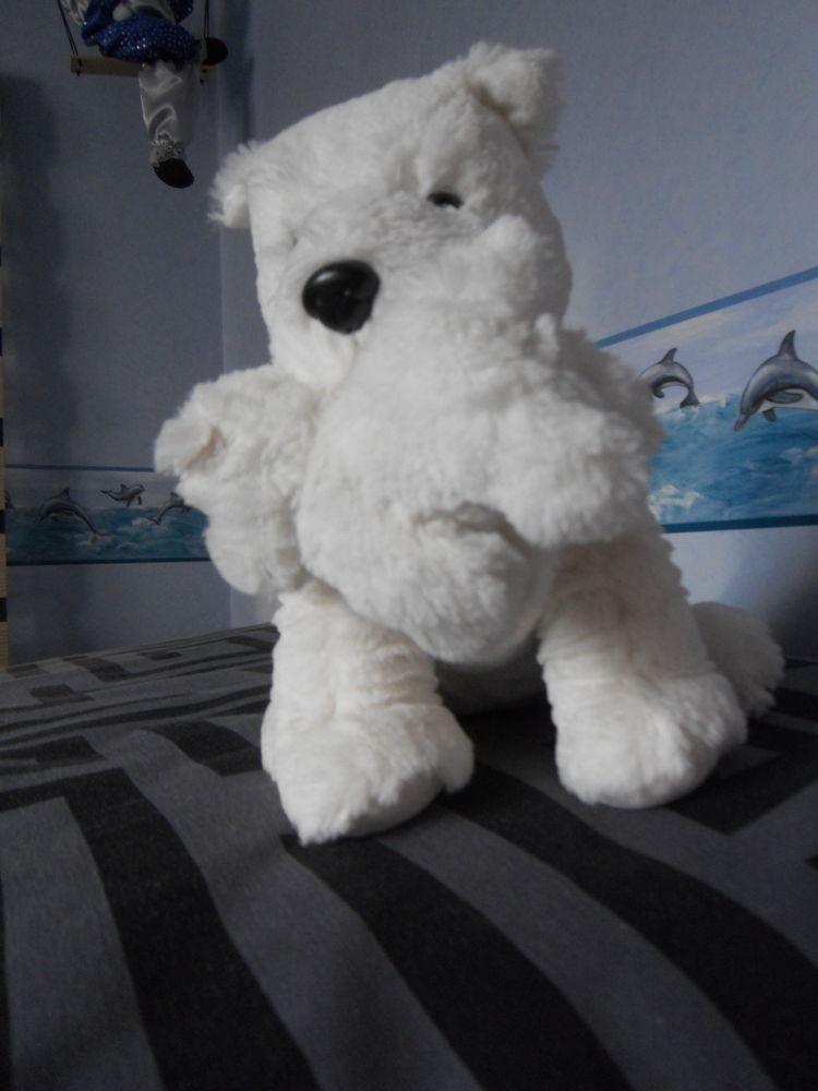 joli chien blanc avec son petit. neuf 10 Rennes (35)