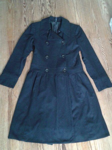 Joli manteau noir hiver NAF NAF T36 50 Bordeaux (33)