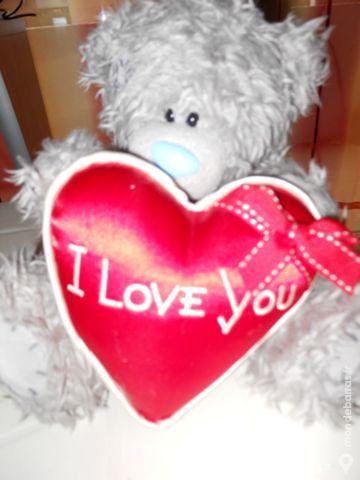 Joli petit ours avec coeur rouge I LOVE YOU NEUF 20 Rennes (35)