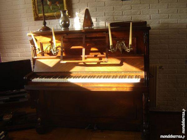 joli piano droit 19e acajou 390 Béthune (62)