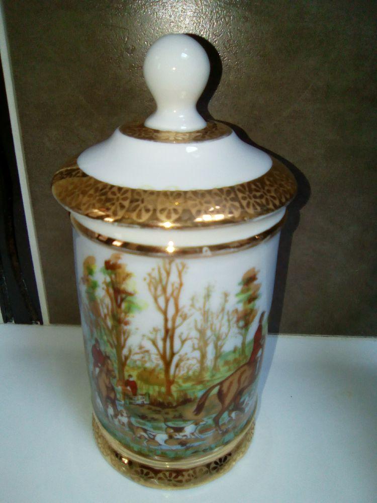 Joli pot en porcelaine de Limoges 5 Templemars (59)