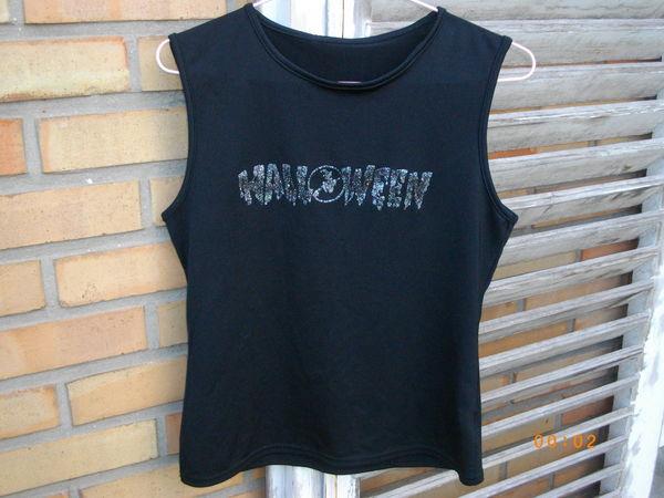 joli tee shirt spécial halloween neuf noir sans manche T 3 5 Dunkerque (59)