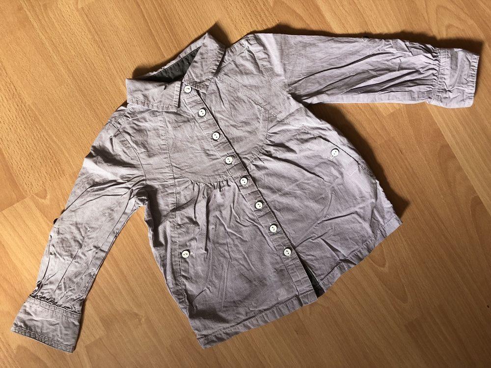 Jolie blouse/chemise/tunique T. 3 ans à rayures OKAÏDI fille TBE Vêtements enfants
