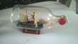 Jolie bouteille avec Goelette scelle Scelle avec cordon