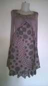 Jolie robe Couleur taupe Marque Cache Cache 10 Talange (57)
