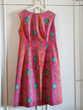 Jolie robe fond fuschia - 38/40 - TBE