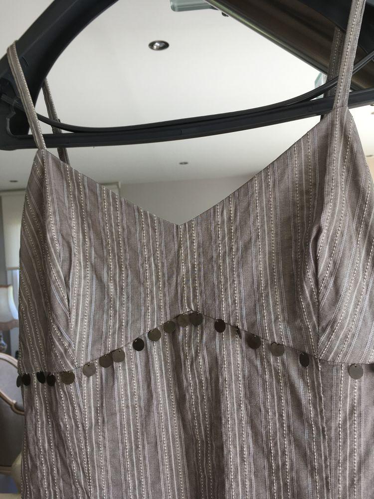 jolie robe d'été de marque 1.2.3 T. 40 belle matière moirée 25 Étaples (62)
