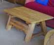 Jolie table basse style chalet suisse