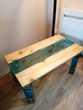Jolie table basse en résine epoxy Meubles
