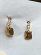 jolies boucles d'oreilles en or jaune 750 Bijoux et montres