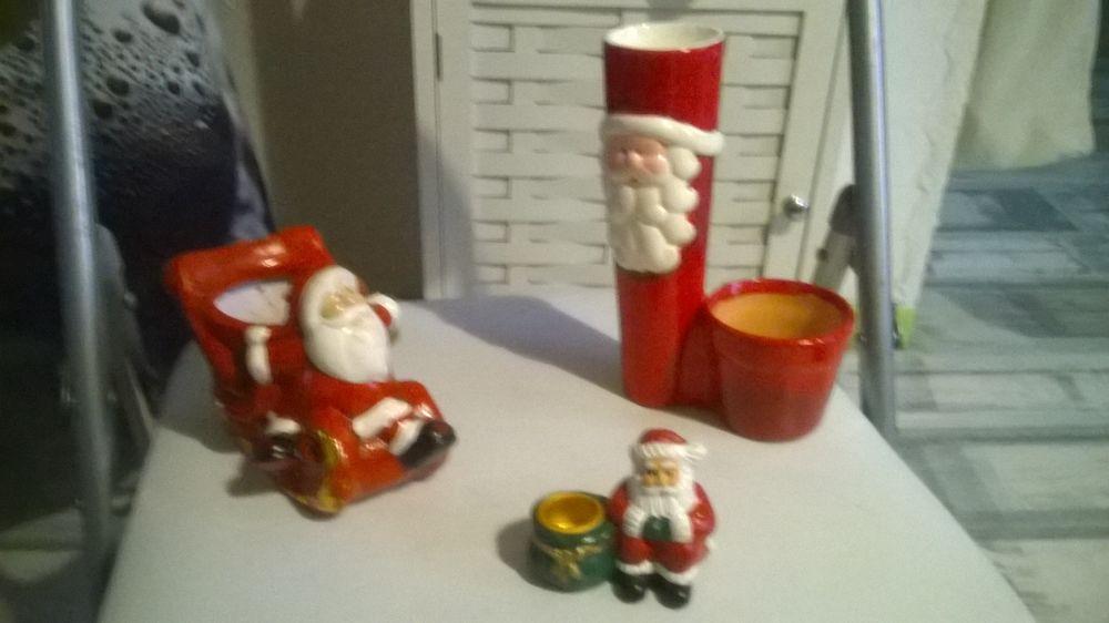 3 jolies décorations de Noel en céramique 11 Talange (57)