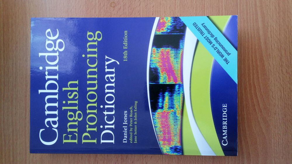 JONES D., Cambridge English Pronouncing Dictionary. Livres et BD