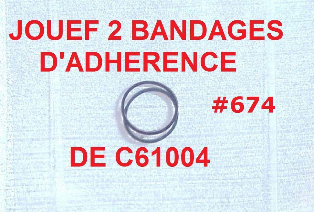 JOUEF 2 BANDAGES D'ADHÉRENCE DE C61004 #674 Jeux / jouets