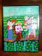 Jouet ancien puzzle publicitaire purée MOUSLINE deco vintage