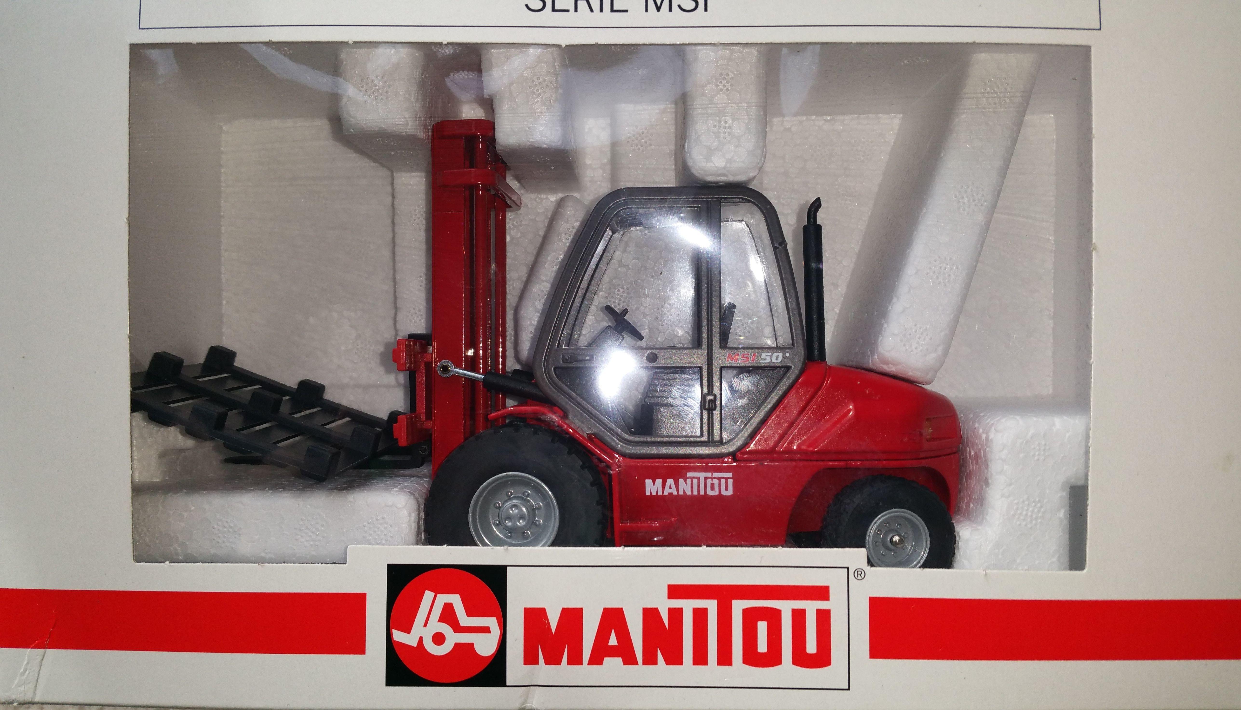 Jouet maquette chariot à mât MANITOU MSI 50 T 29 Nantes (44)