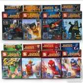 JOUETS AVENGERS,super heros, type LEGO 24 Soissons (02)
