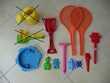 10 jouets en plastique pour le sable, la plage Jeux / jouets